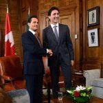 Enrique Pena Nieto Justin Trudeau